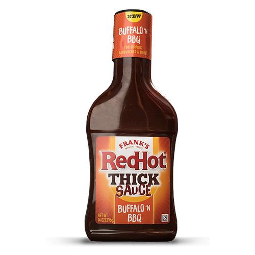 Frank's RedHot Thik Sauce BUFFALO 'N BBQ 354ml