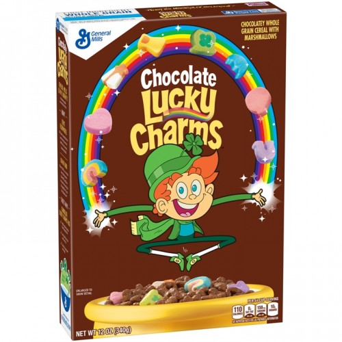 General Mills Lucky Charms Chocolate Cereal
