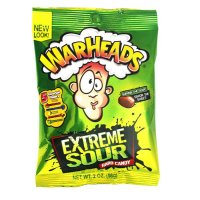 WARHEADS Extreme Sour Hard Candy 56,7g UPC 32134215029