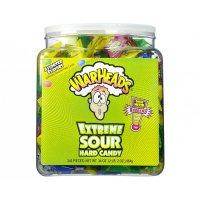 WARHEADS Extreme Sour Hard Candy Tub 964g UPC 32134215500