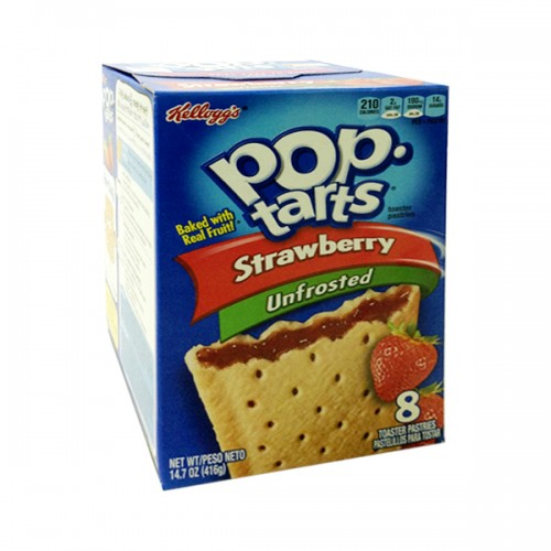 Kellogg's Pop Tarts Frosted Strawberry 416g