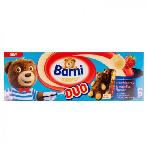 Barni Duo  Strawberry and Vanilla 150g 7622210937131