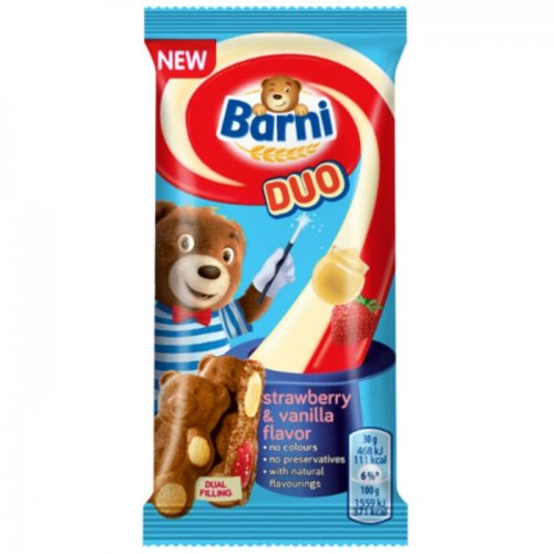 Barni Duo Strawberry and Vanilla 30g 7622210937094
