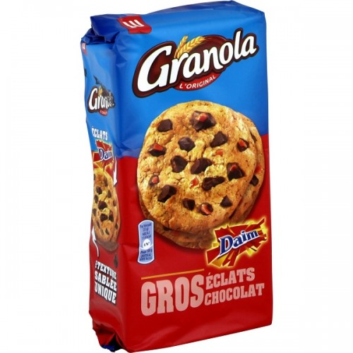 LU Granola Cookies with Daim