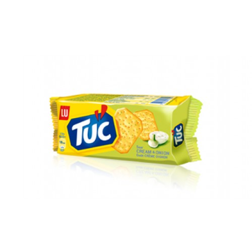 LU TUC Cream & Onion Crackers