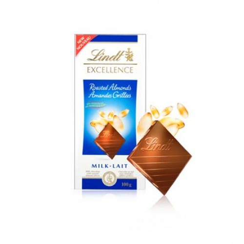 Lindt Excellence Roasted Almonds