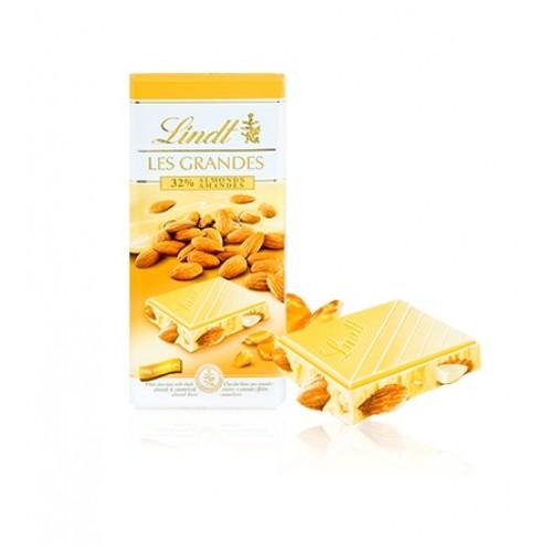 Lindt Les Grandes Almond White