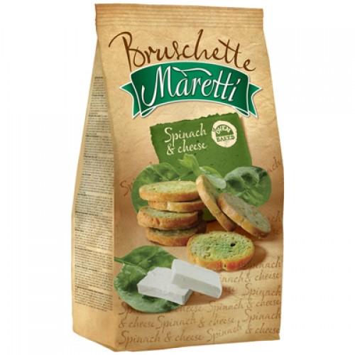 BRUSCHETTE MARETTI Spinach & Cheese