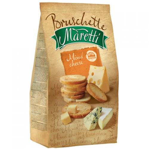 BRUSCHETTE MARETTI Mixed Cheese