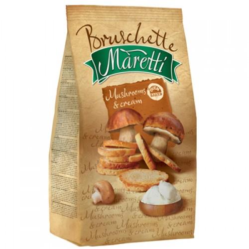 BRUSCHETTE MARETTI Mushrooms & Cream