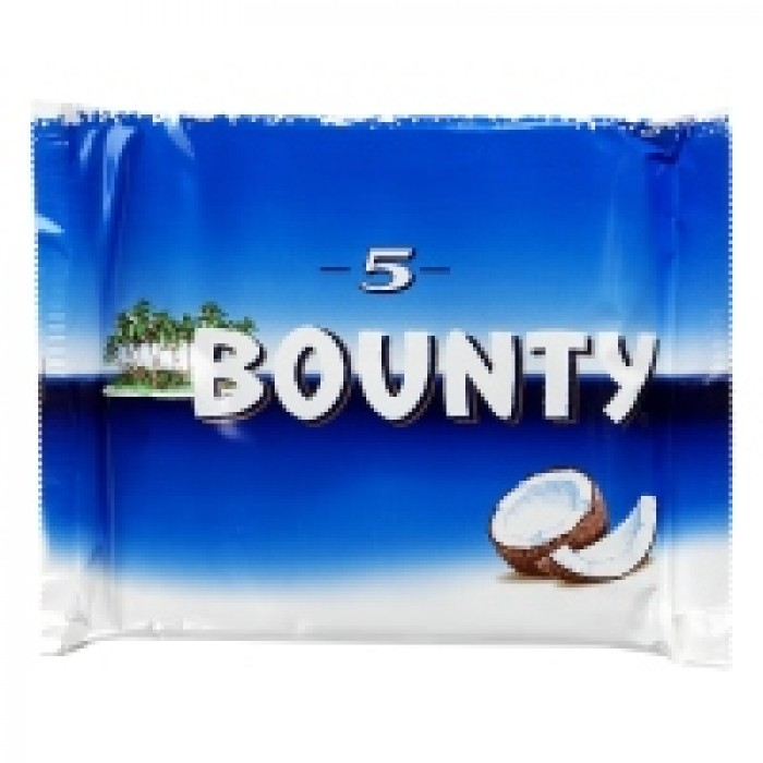 Bounty 5 Pack 285g Chocolate Brands