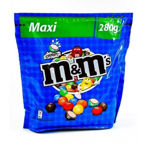 M&M's Maxi Crispy Pouch 280g