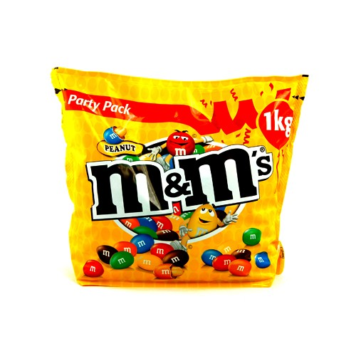 M&M's Peanut Party Pack 1kg