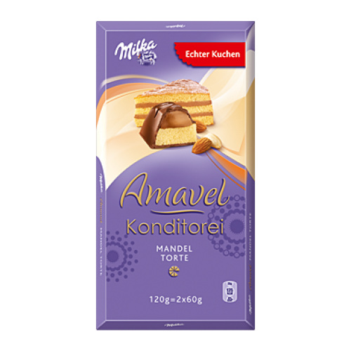 Milka Amavel Konditorei Mandeltorte / Almond Cake