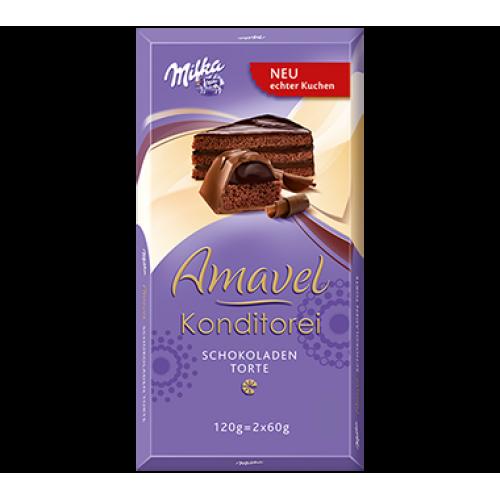Milka Amavel Konditorei Chocolate Cake