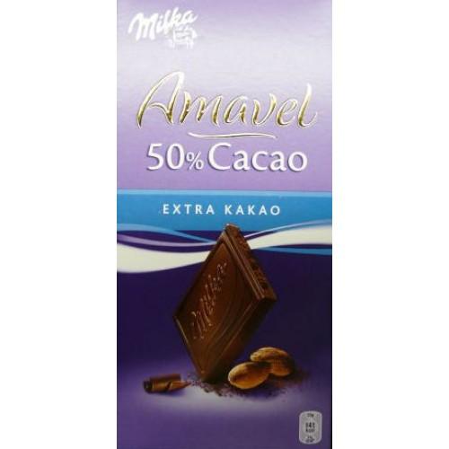 Milka Amavel 50% Cocoa - Extra Cocoa
