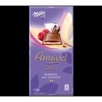 Milka Amavel Duo  Raspberry & Yogurt 130g