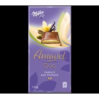 Milka Amavel Duo Vanilla & Pistaccio 130g