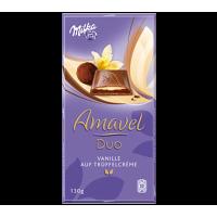 Milka Amavel Duo Vanille auf Truffelcreme 130g