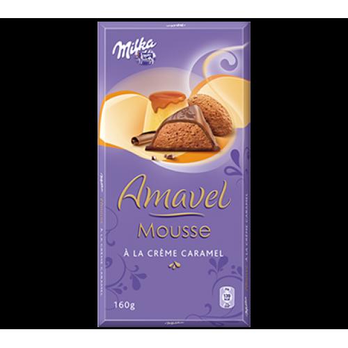 Milka Amavel Mouse Creme Caramel 160g