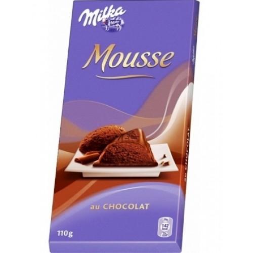 Milka Mousse au Chocolate 110g