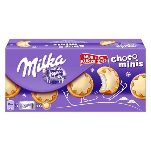 Milka Chocominis White 150g
