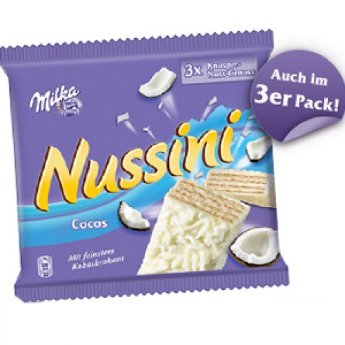 Milka Nussini Coconut 3x37g