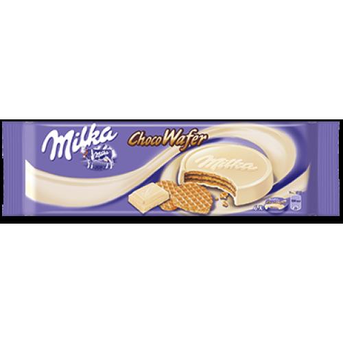 Milka Choco Wafer White 180g