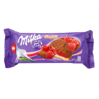 Milka ChocoJaffa Biscuits Raspberry Jelly