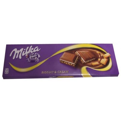 Milka Biscuit & Cream Chocolate