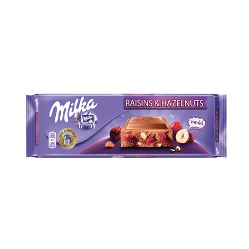 Milka Raisins & Nuts Chocolate