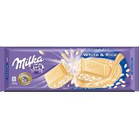 Milka White & Rice 200g