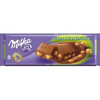 Milka Whole Hazelnuts Chocolate 300g