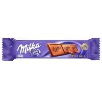 Milka Alpine Milk Chocolate Bar 25g