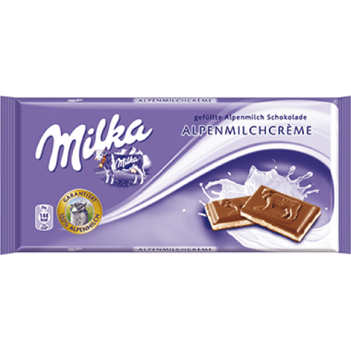 Milka Alpine Milk Cream