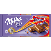 Milka & Daim Chocolate 100g