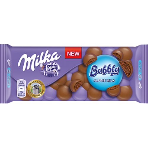 Milka Bubbly Milk 100g