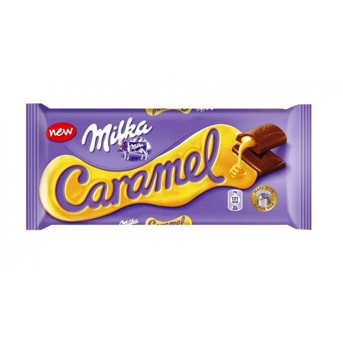 Milka Caramel Chocolate tablet 100g