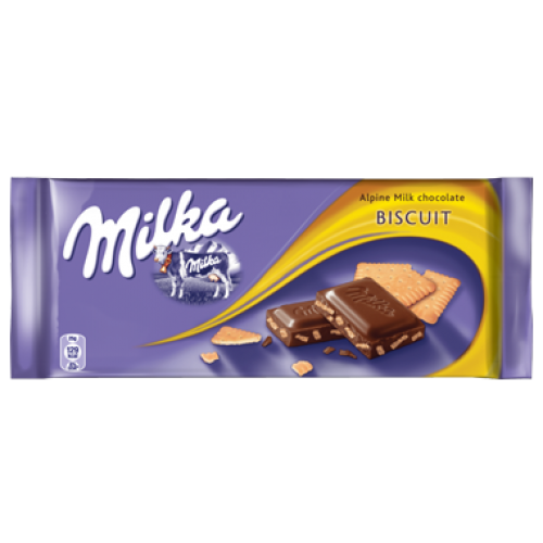 Milka Biscuit Chocolate