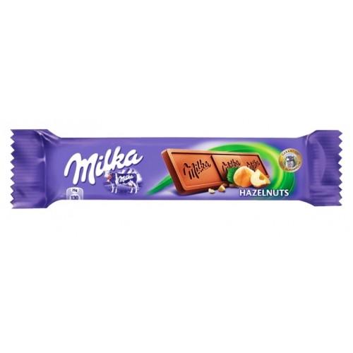 Milka Hazelnuts Chocolate Bar 25g
