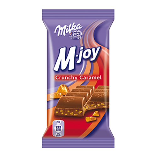 Milka M-joy Crunchy Caramel