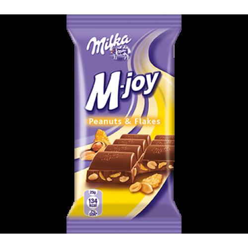 Milka M-Joy Peanuts & Flakes 60g