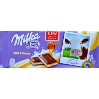 Milka Milk & Honey 100g