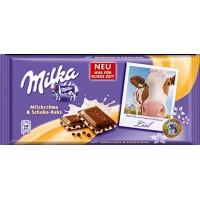 Milka Milk Cream and Cocoa Biscuit / Cow Lisl 100g