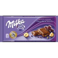 Milka Raisins & Nuts Chocolate 100g