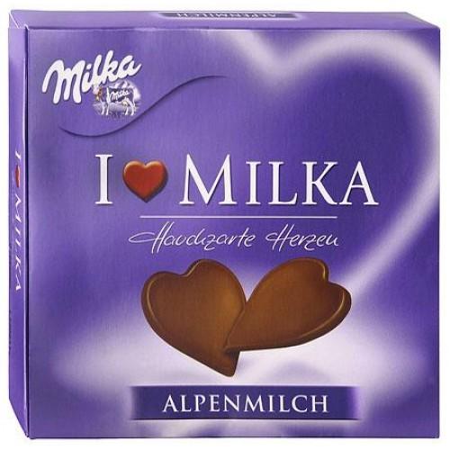 Milka I love Milka Delicate Heart Alpine Milk