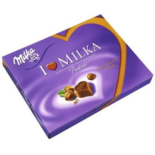 Milka I Love Milka Hazelnuts Praline Cream