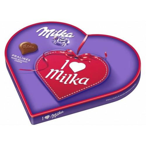 Milka I Love Milka Nuss-nougat Cream 50g