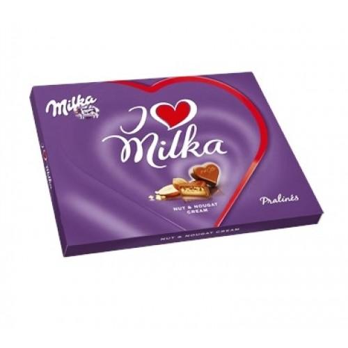 Milka I Love Milka Nut & Nougat Cream 110g