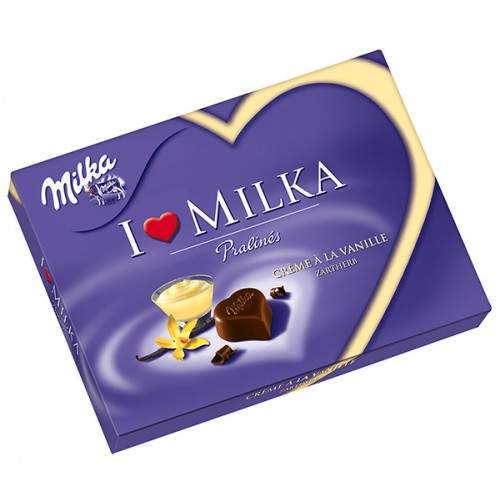 Milka I Love Milka Vanilla Cream